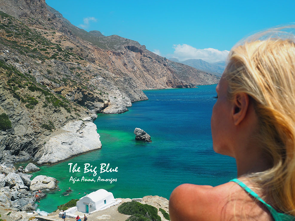 Agia Anna, Amorgos, Greece - The big blue