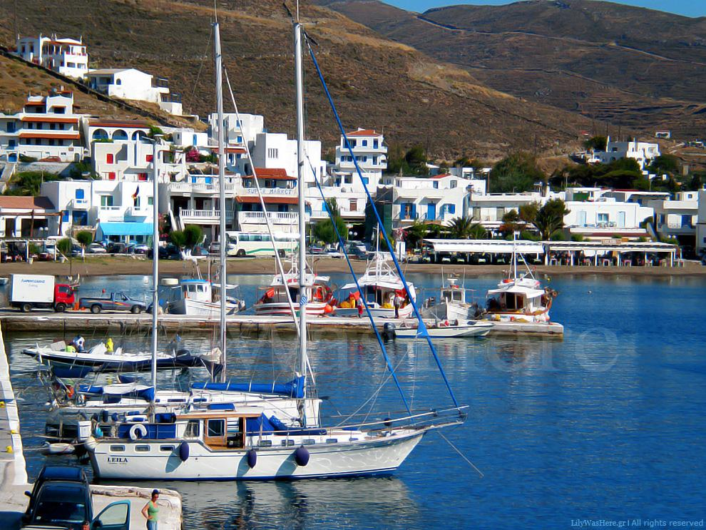 In Livadi - port of Serifos