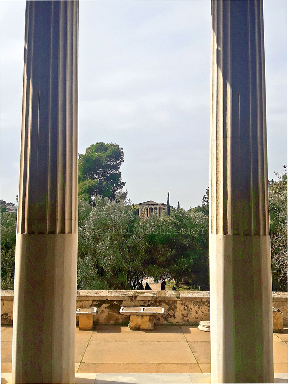 Archaeological site Athens