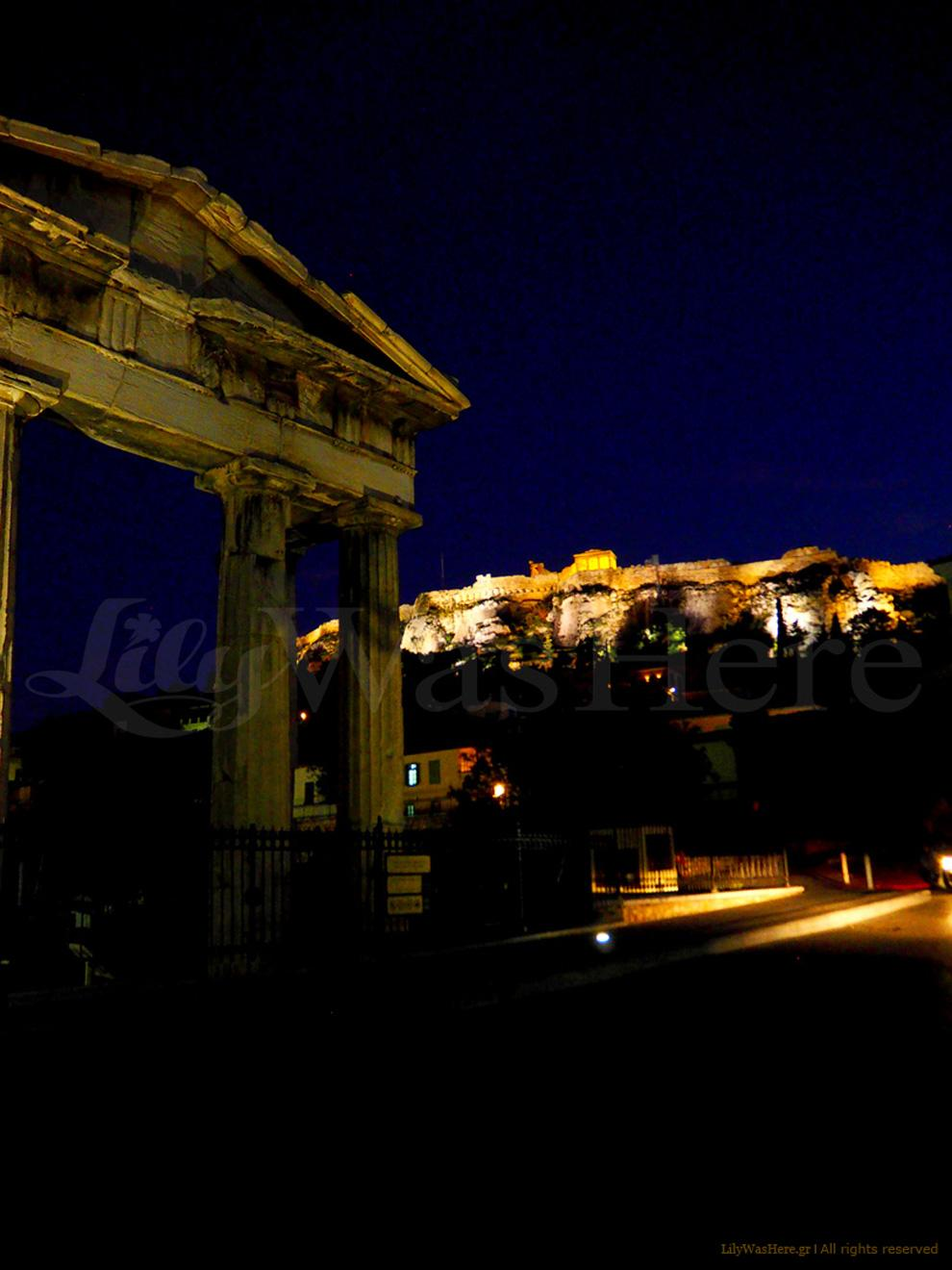 Athens by night, Αθήνα Πλάκα, Πλάκα Αθήνας, Η Πλάκα τη νύχτα, Αθήνα νύχτα, Κέντρο Αθήνας νύχτα,
