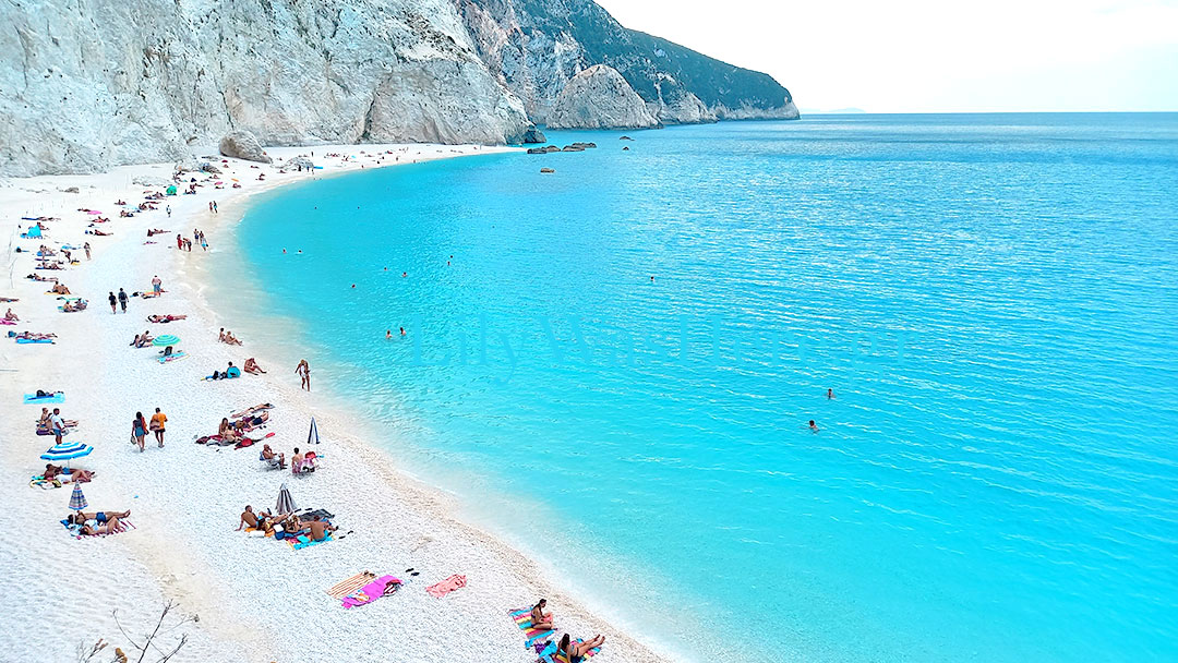 Porto Katsiki beach Lefkada Greece