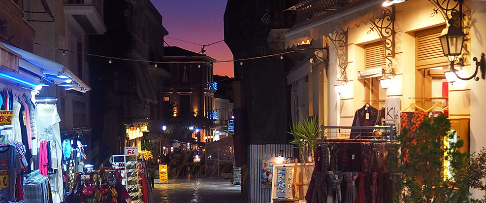 Christmas Plaka Athens Greece