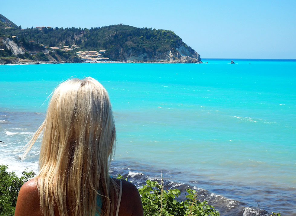 Lily in Lefkada, Greece - Travel