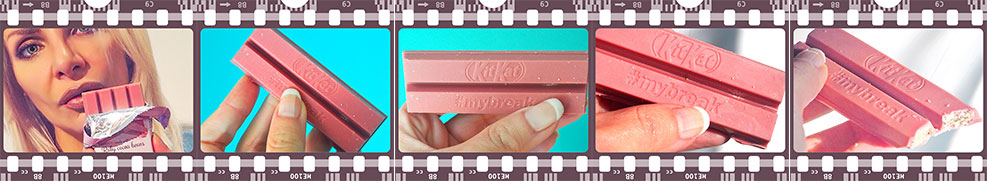 KitKat Ruby Pink chocolate