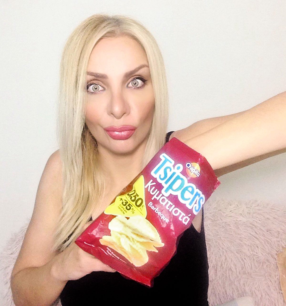Wavy Tsipers Barbeque Chips flavour