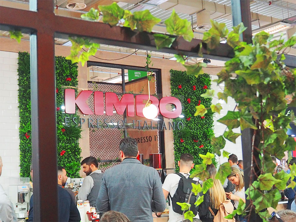 Greek gastronomy events | Horeca expo Kimbo coffee