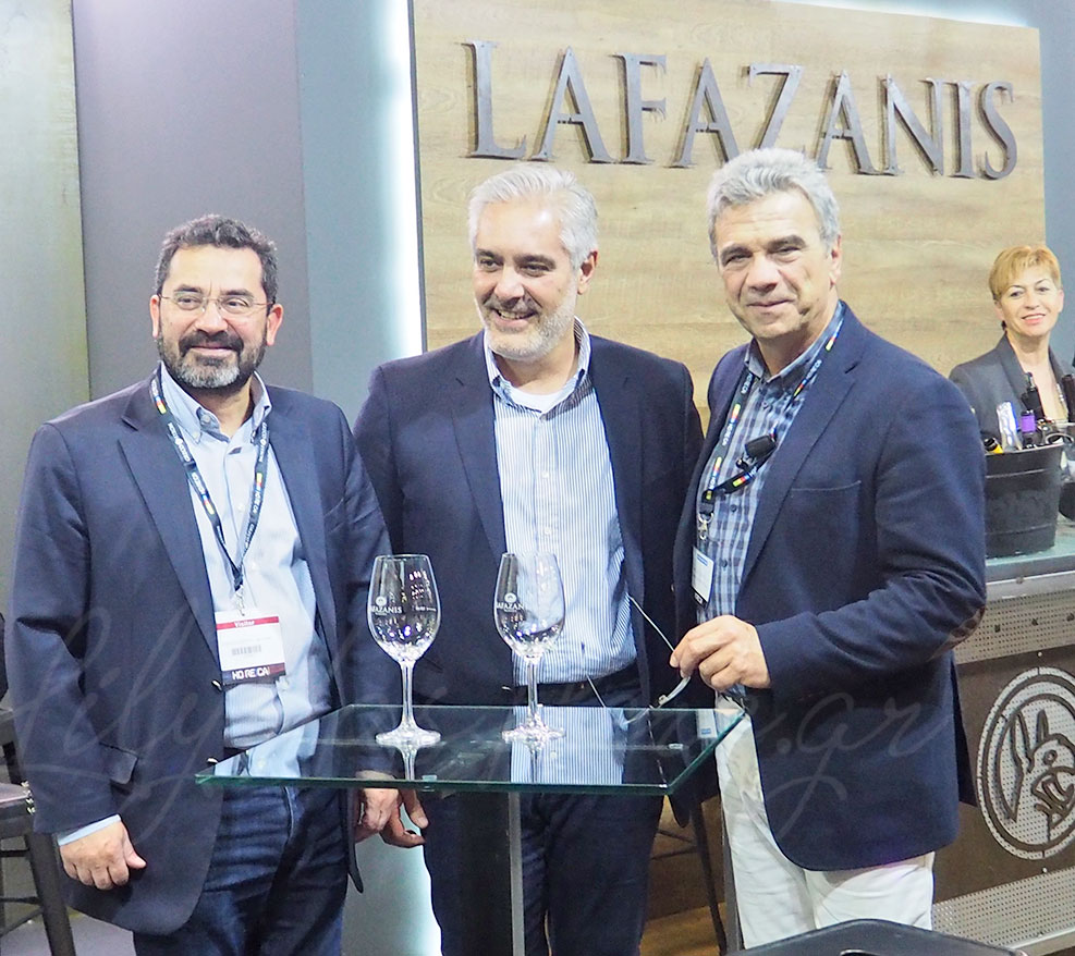 Lafazanis Wines Exhibition