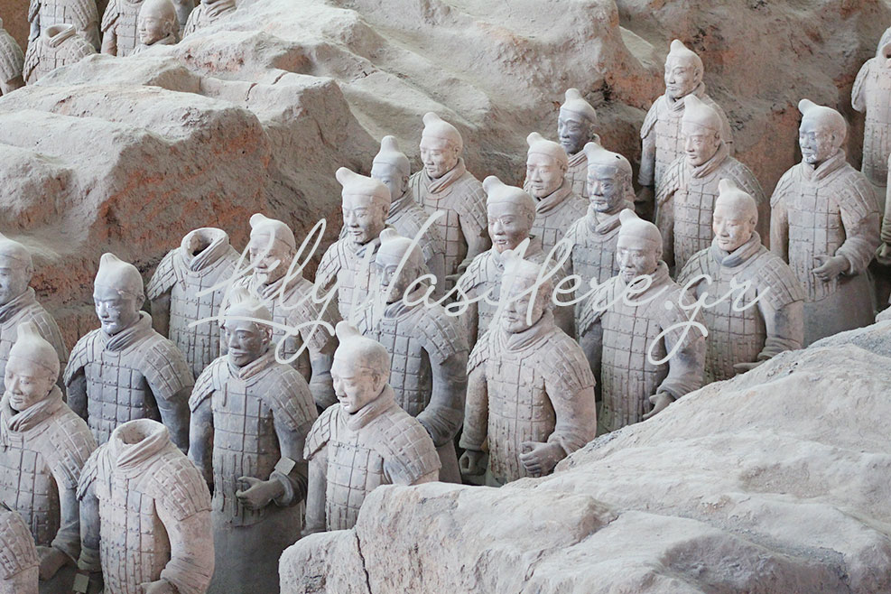 Terracotta Army, Κίνα