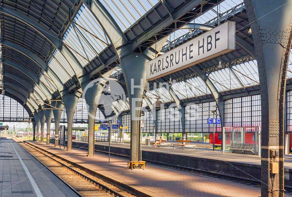 Karlsruhe Germany | Train Station