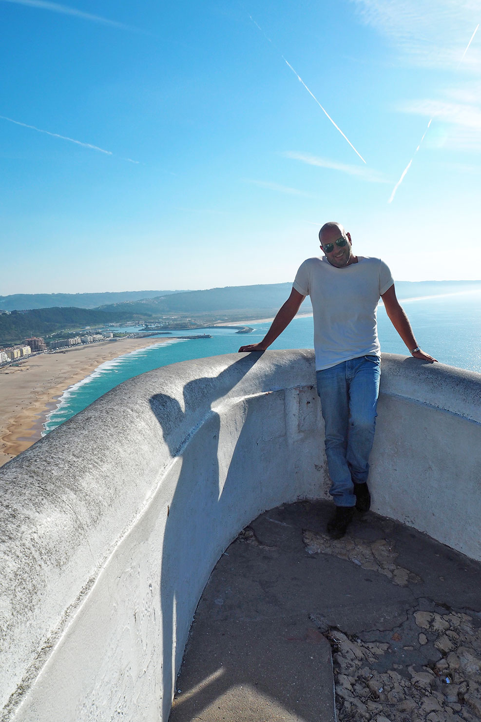 Nazare view from the top